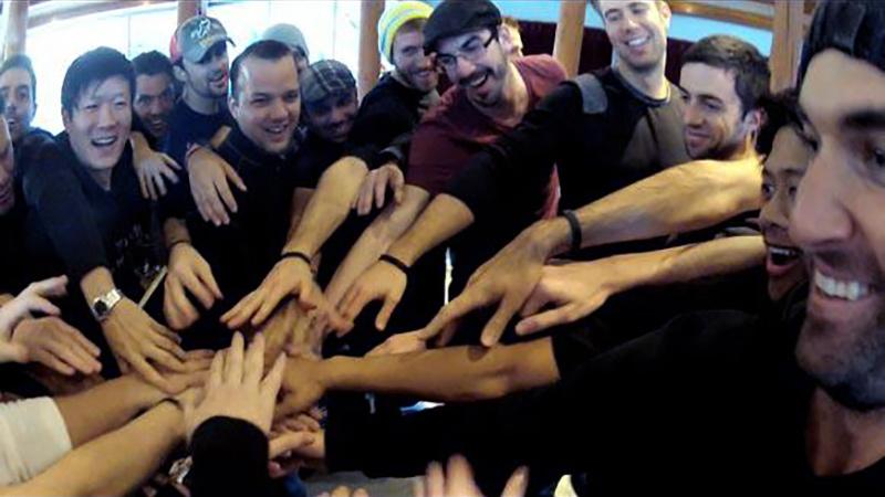 men's group exercises how to start