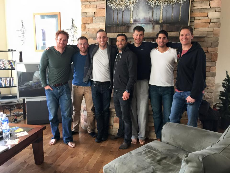 Men's Group ski trip in our chalet
