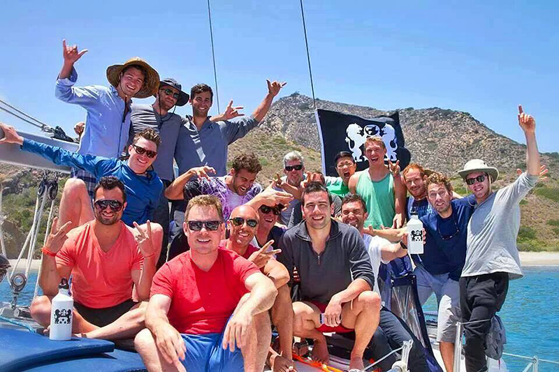 A sail, surf and spearfish men's group trip