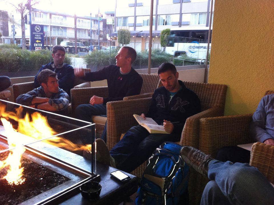 Fireside men's group