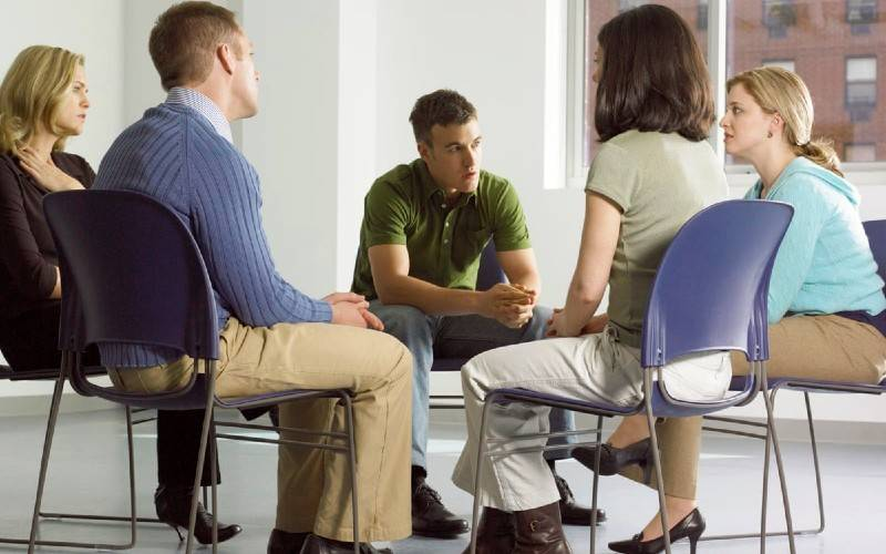 Group Therapy Meetings