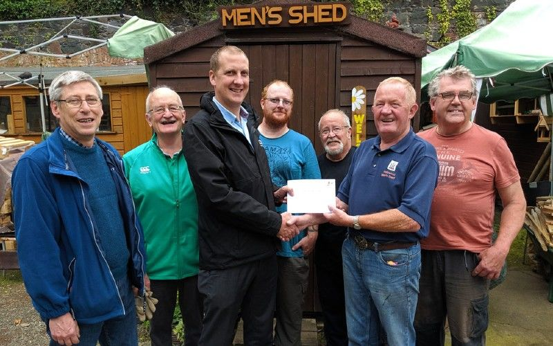 men's shed in UK