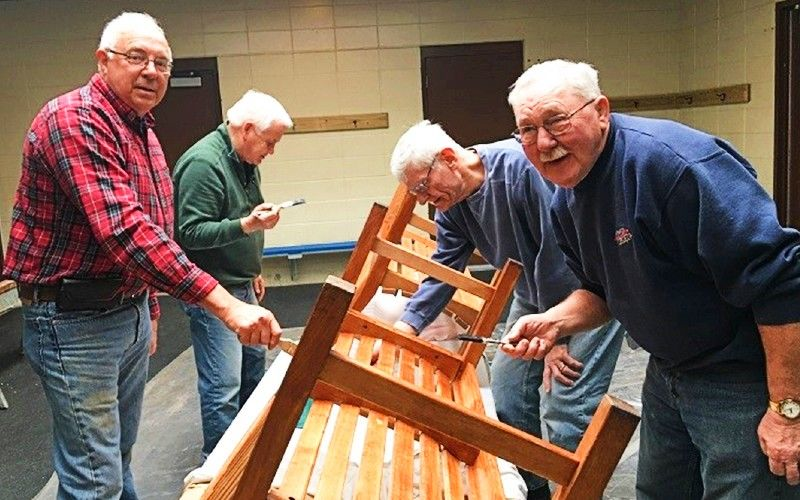 Joining A Men's Shed